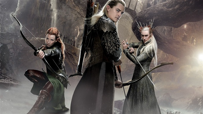 The Hobbit 2-The Desolation of Smaug Movie HD Wallpaper 20 Views:3234