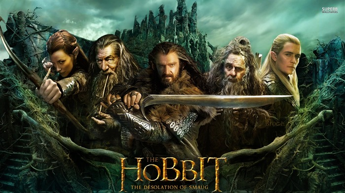 The Hobbit 2-The Desolation of Smaug Movie HD Wallpaper 26 Views:4588