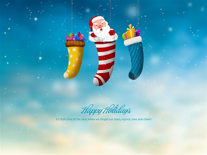 happy holidays-Holiday theme HD Wallpapers Views:2794