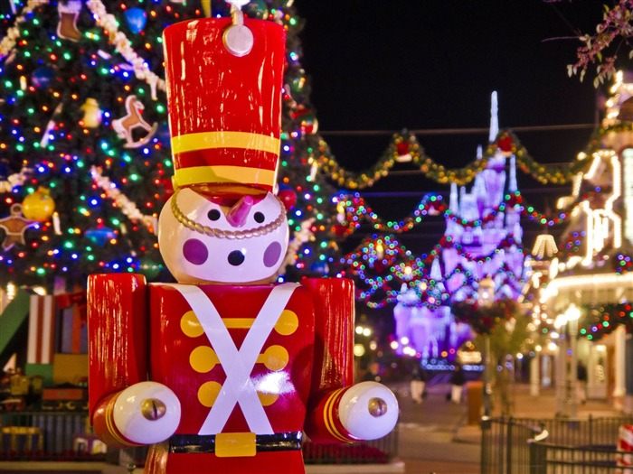 magic kingdom toy soldier-Holiday theme HD Wallpapers Views:2125