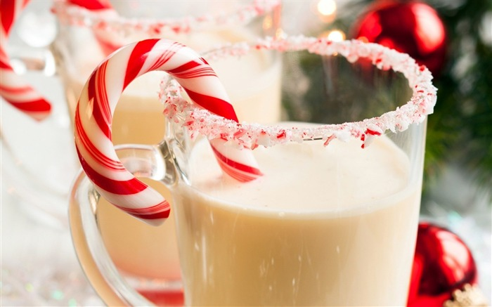milk candy christmas winter-Holidays wallpaper Views:2208