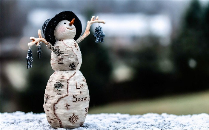 winter snowman toy-HIGH Quality Wallpaper Views:2245