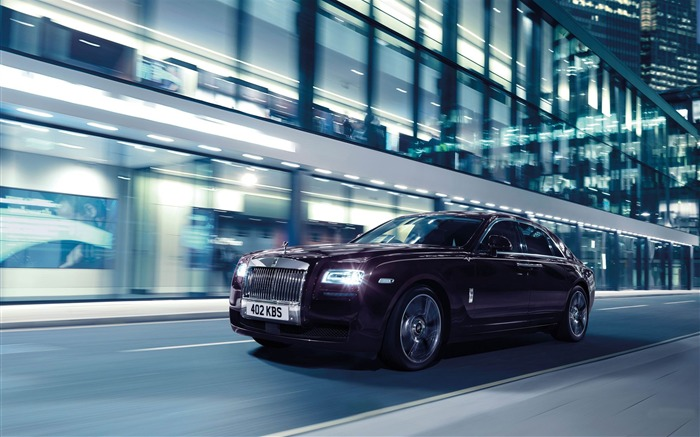 2015 Rolls Royce Ghost V-Specification HD Wallpaper Views:8281