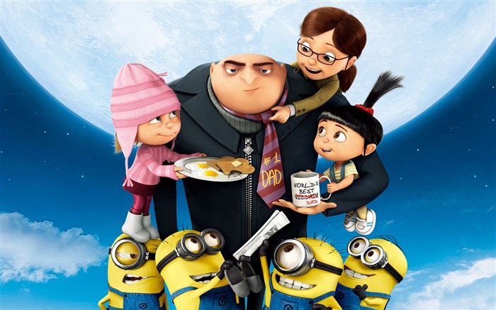 Despicable Me 2 Movie Widescreen HD Wallpaper Views:13035