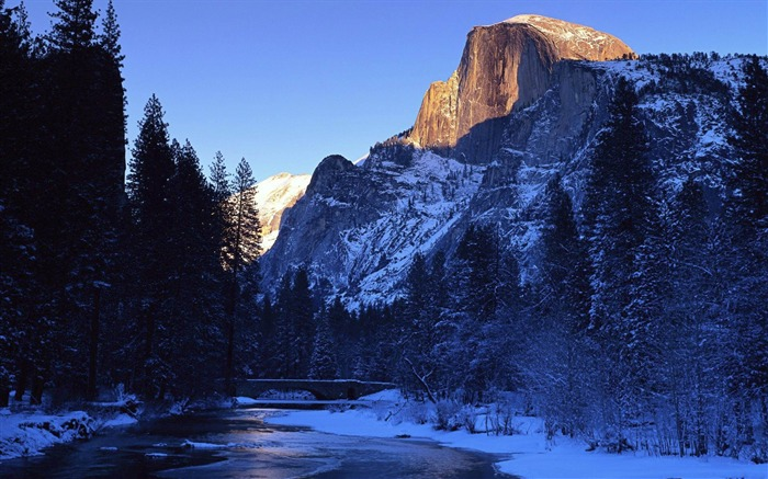 Yosemite National Park Merced River-Windows HD Wallpaper Views:3209
