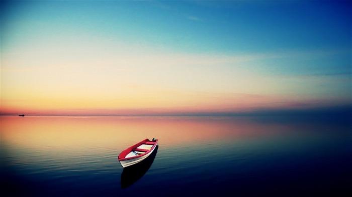 梦幻手绘船图片