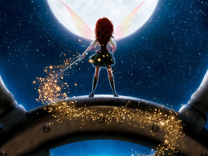 disney the pirate fairy-Movie HD Wallpapers Views:3048