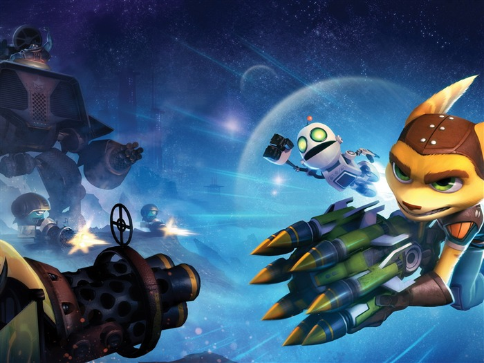 ratchet clank full-quality wallpapers Views:3506