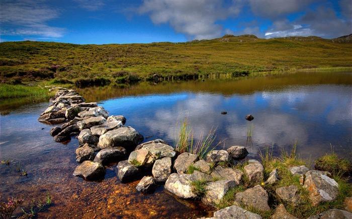 小溪在苏格兰-自然高清壁纸 预览