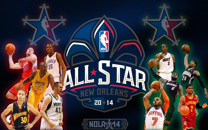 2014 NBA All-Star Game HD Desktop Wallpaper Views:21913