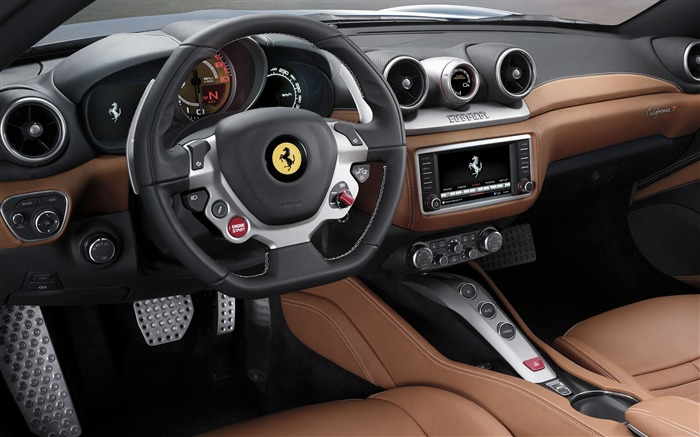 2015 Ferrari California T Auto HD Wallpaper 07 Views:3118
