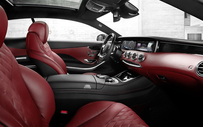 2015 Mercedes-Benz S-Class Coupe Auto HD Wallpaper 01 Views:2144