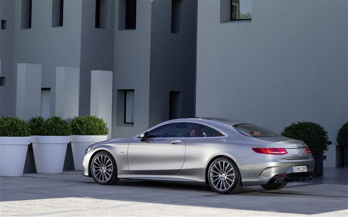 2015 Mercedes-Benz S-Class Coupe Auto HD Wallpaper 07 Views:3551