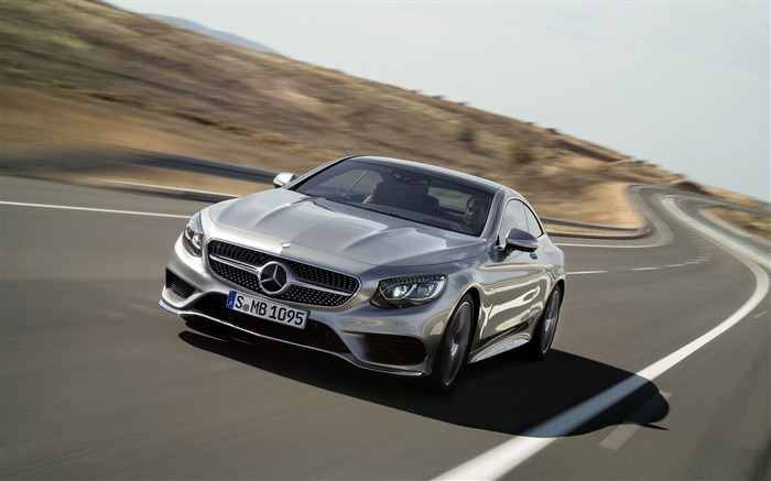 2015 Mercedes-Benz S-Class Coupe Auto HD Wallpaper 12 Views:3420
