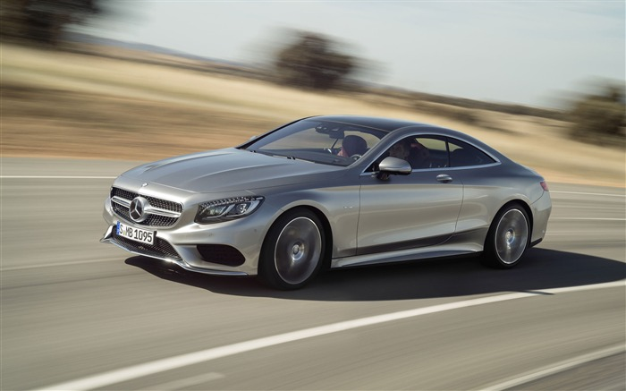 2015 Mercedes-Benz S-Class Coupe Auto HD Wallpaper 14 Views:3542