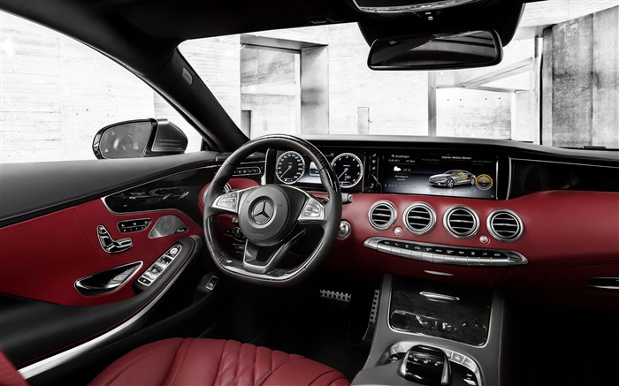 2015 Mercedes-Benz S-Class Coupe Auto HD Wallpaper 17 Views:2428