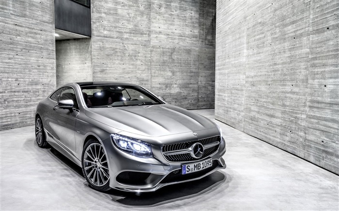 2015 Mercedes-Benz S-Class Coupe Auto HD Wallpaper Views:5456