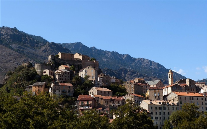 Corte Corse France-Cities HD wallpaper Views:3993