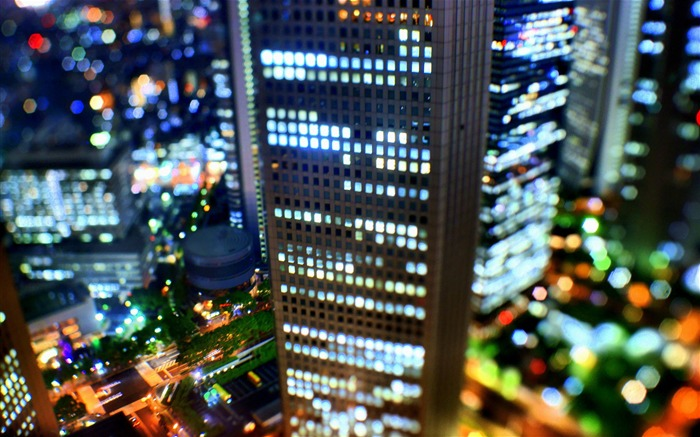 Dream Tokyo Japan bokeh Photography wallpaper Views:8520