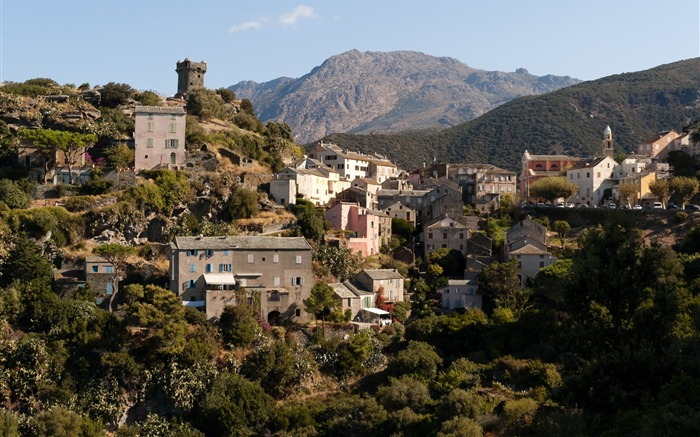 Nonza Corse France-Cities HD wallpaper Views:2752