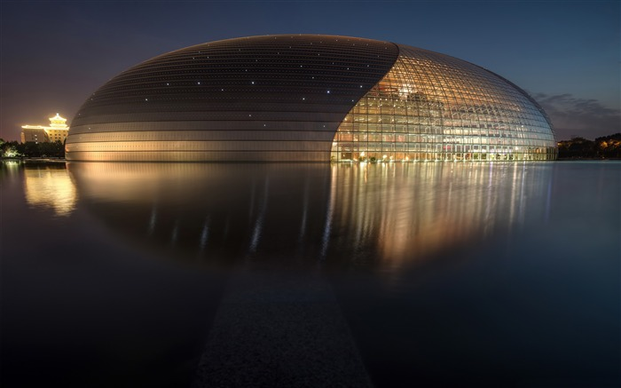 China National Grand Theatre-Cities HD Wallpaper Views:3207