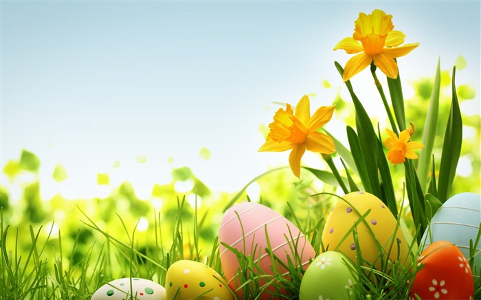Happy Easter 2014 Holidays Desktop Wallpaper Views:9733