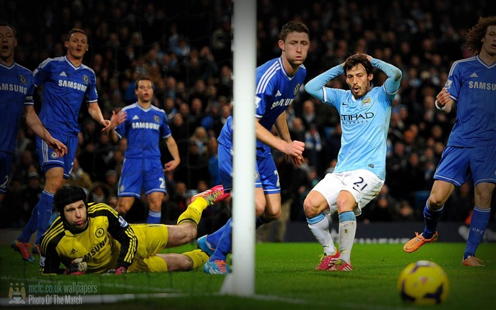 Manchester City 0-1 Chelsea-Sport Wallpaper Views:3423