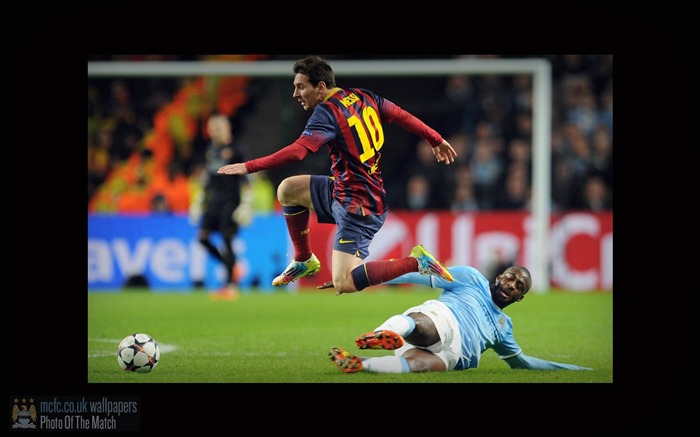 Manchester City 0-2 Barcelona-Sport Wallpaper Views:3402