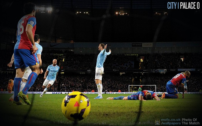 Manchester City 1-0 Palace-Sport Wallpaper Views:3016