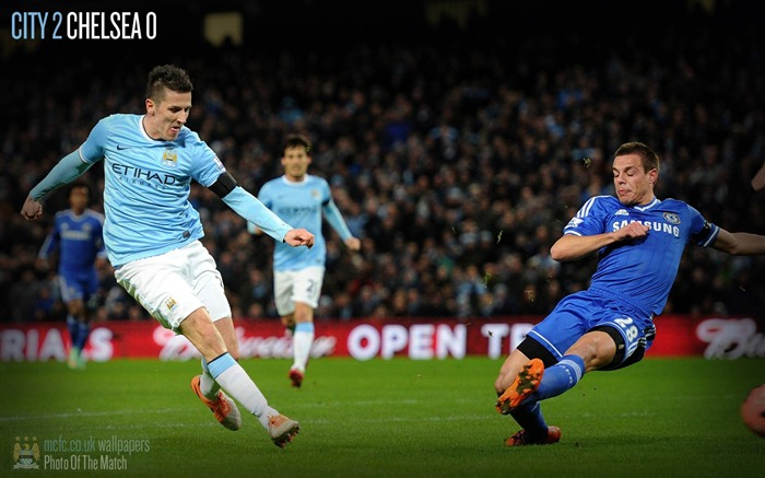 Manchester City 2-0 Chelsea-Sport Wallpaper Views:3115