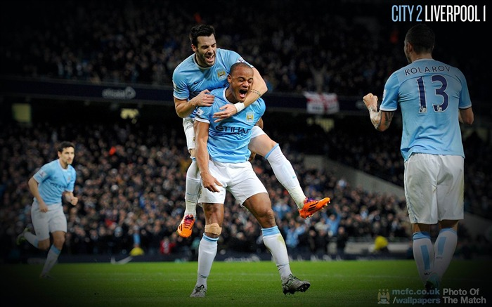Manchester City 2-1 Liverpool-Sport Wallpaper Views:2846