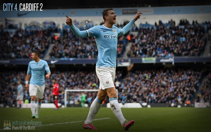 Manchester City 4-2 Cardiff-Sport Wallpaper Views:3342