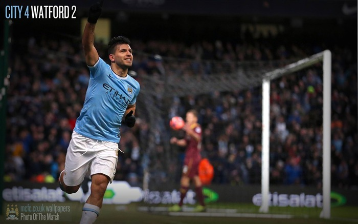 Manchester City 4-2 Watford-Sport Wallpaper Views:3936