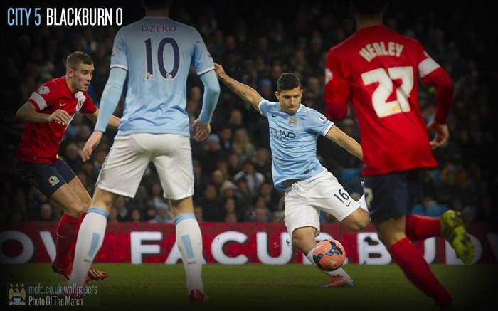 Manchester City 5-0 Blackburn-Sport Wallpaper Views:3242
