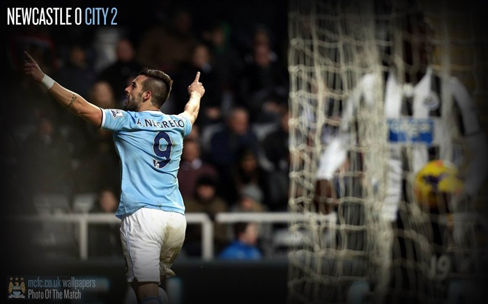 Newcastle 0-2 Manchester City-Sport Wallpaper Views:3290