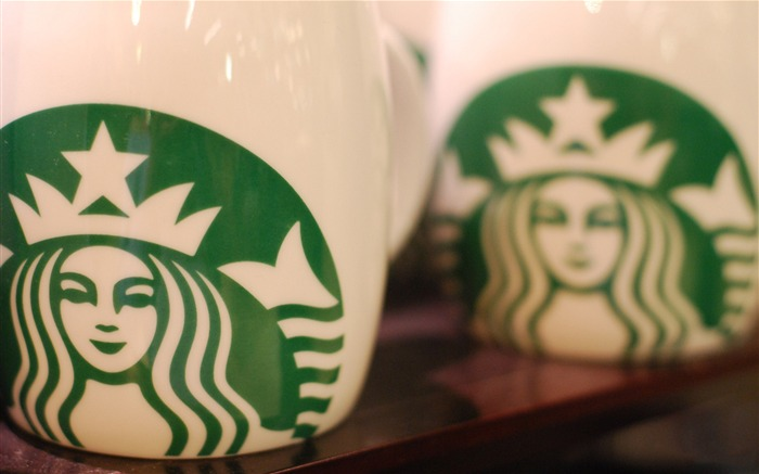 Starbucks Coffee brand advertising wallpaper Views:14413