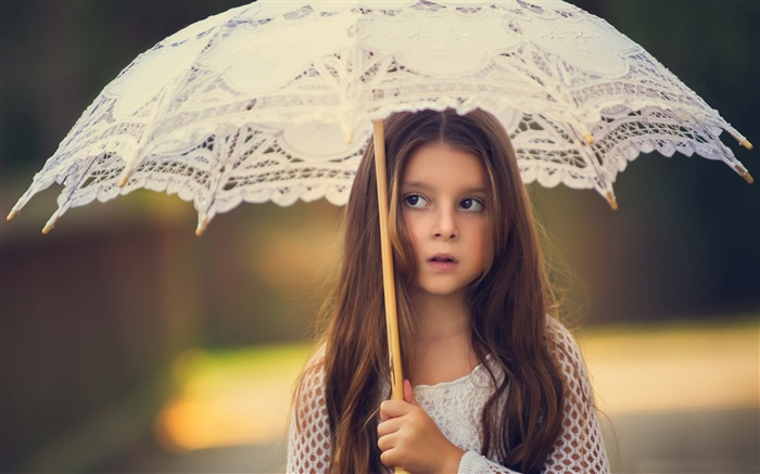 little lady girl-Photo HD Wallpaper Views:5456
