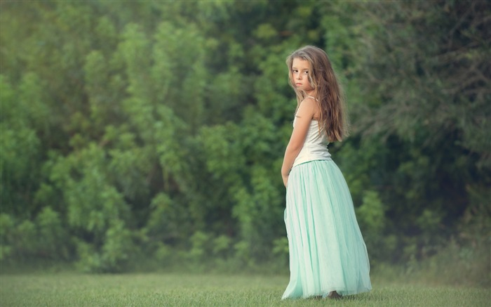 little princess-Photo HD Wallpapers Views:5806