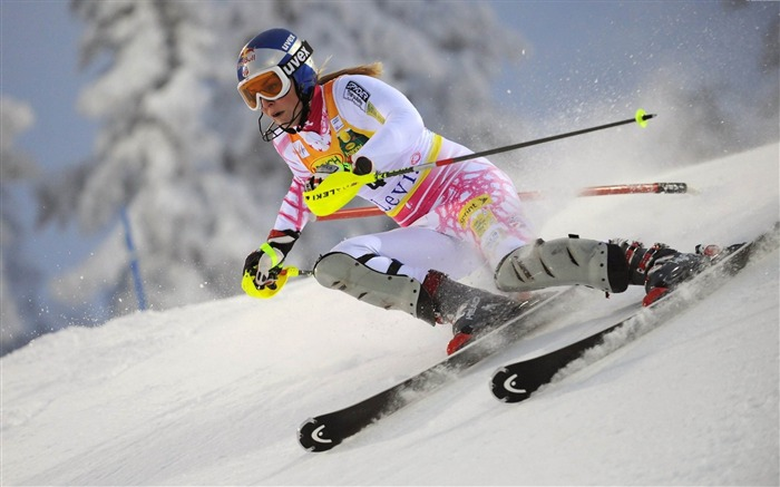 skis ride mountain-Sports HD Wallpapers Views:2159