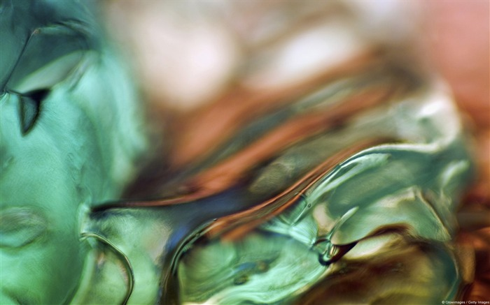 Green and orange ice-Windows Photo Wallpaper Views:3609