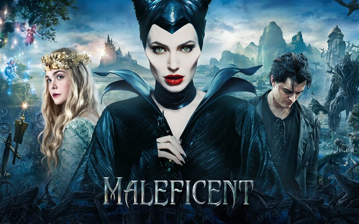 Maleficent 2014 Movie HD Desktop Wallpaper Views:7559