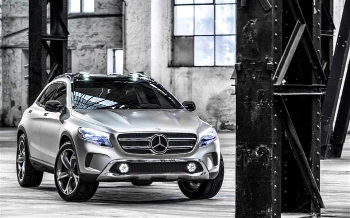 Mercedes Benz gla-Car HD wallpaper Views:2905