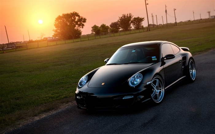 Porsche 911 Turbo-Car HD wallpaper Views:3082