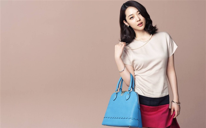 South Korea beautiful star Sulli Photo Wallpaper Views:7657