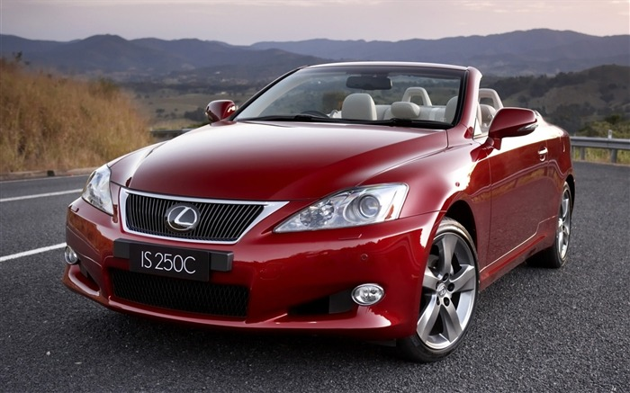 red lexus 250c-Car HD wallpaper Views:2951