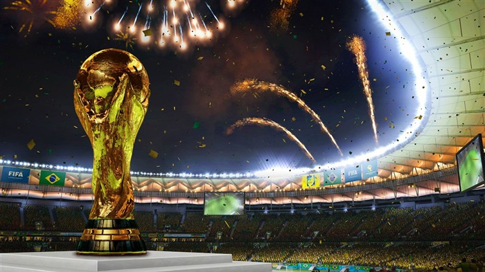 2014 Brazil 20th FIFA World Cup Desktop Wallpaper 01 Views:4966