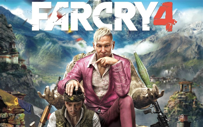 FAR CRY 4 Game HD Desktop Wallpaper Views:6080