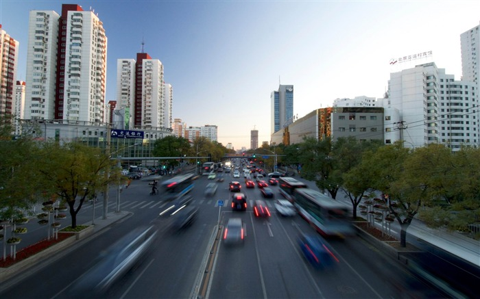 beijing only road-Cities landscape wallpaper Views:3994
