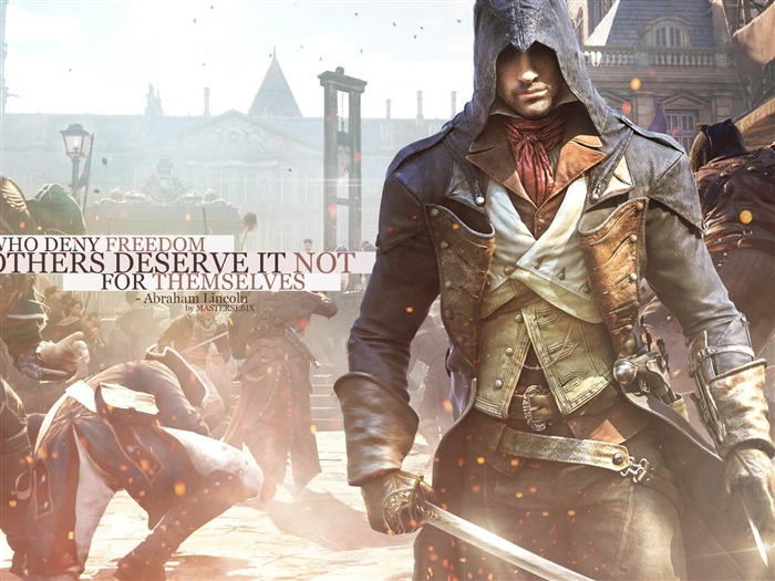 Assassins Creed Unity HD Game Desktop Wallpaper Views:18901