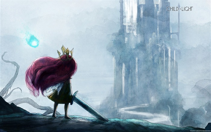 Child of Light Aurora and Igniculus-Windows Theme Wallpaper Views:3502